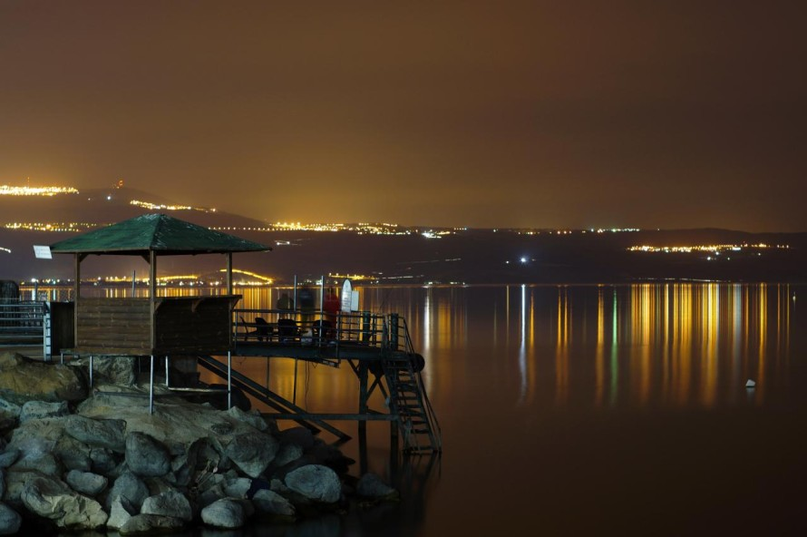 Sea of Galilee @ Night