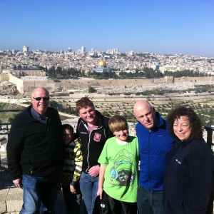 Guiding Kosser Family from Long Ilend, USA