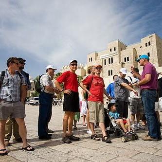 Guiding in Jaffa Israel