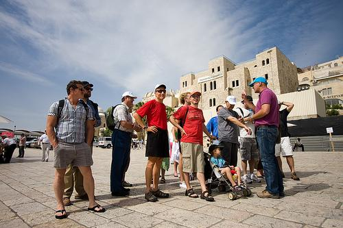 Guiding in Jaffa Israel