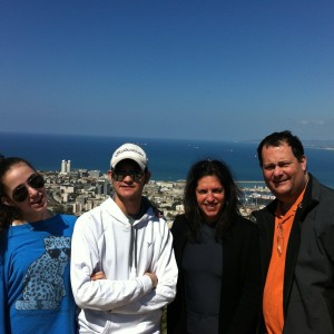 Lisa Beth, Andrew, Josh and Sari Liebhaber