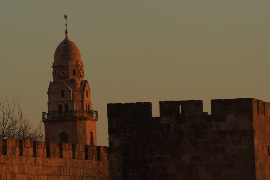 Jaffa Gate Sunset