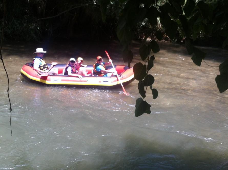 The Belz Family Sailing on the River Jordan