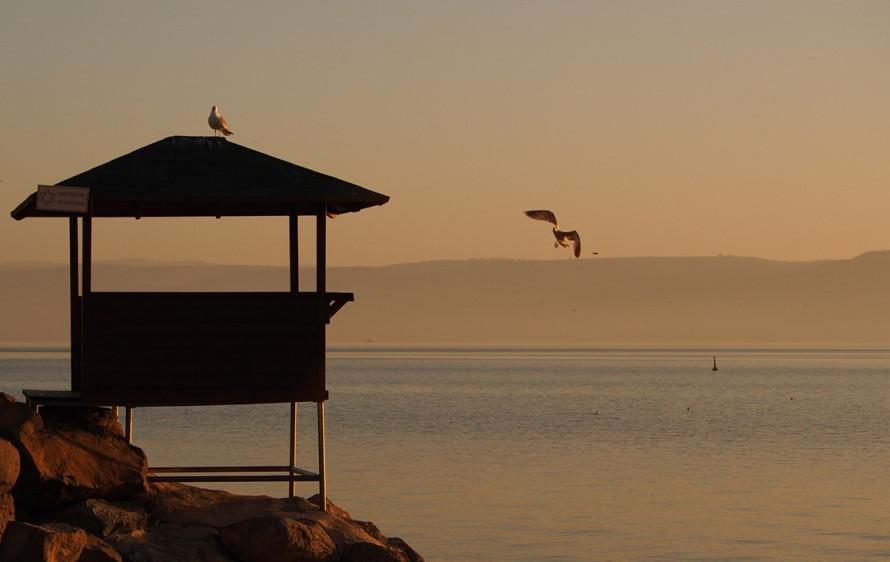 Sea of Galilee (Sun Raise)