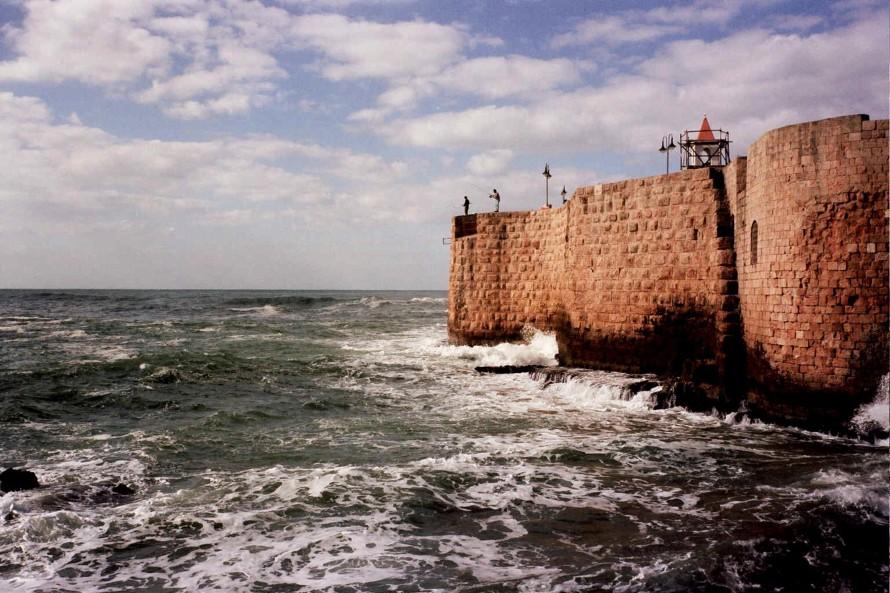 Ottoman Turkish sea wall