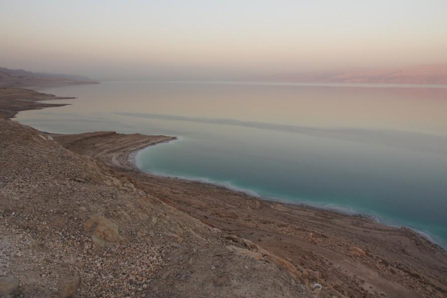 The Dead Sea Sunset