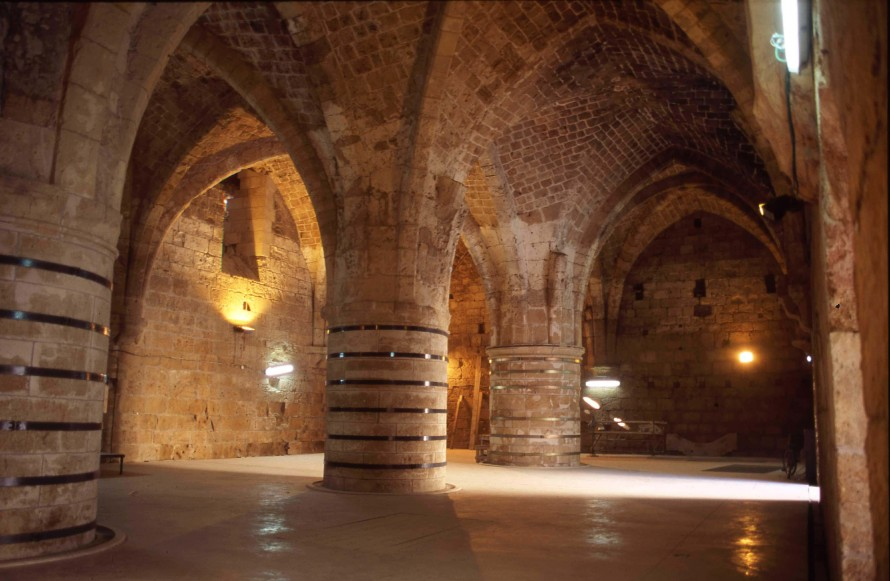 St Johns Crypt in the Hospitaller Quarter